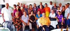 Grupo de participantes en la actividad.