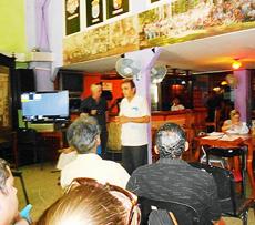 Las palabras de bienvenida estuvieron a cargo del titular de la entidad, Ramón Trabada Rodríguez.