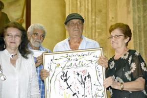Aitana Alberti, Álex Pausides, Delfín Prats y Mirian Castro.