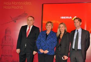 Roberto Varela, Lilian Kechichian, Evelina Pietra y Frederic Martínez.
