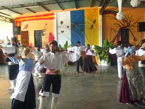 Cuerpo de baile de Nuestra Señora de las Nieves de Cagua.