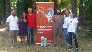El secretario xeral de Política Lingüística, Valentín García, presentó 'O galego campa!', una iniciativa para dinamizar la lengua gallega entre la juventud en 17 campamentos de verano de la Xunta entre los meses de julio y agosto.