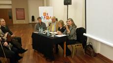 Durante el debate se analizaron los aspectos históricos, psicológicos y cinematográficos de la película.