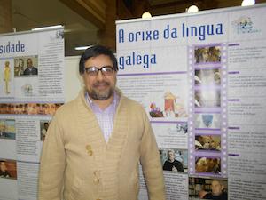 El nuevo interventor del Inaes para el Centro Gallego de Buenos Aires, Martín Moyano Barro.