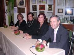 Norma Febrer, Eloy Pousa Arias, Mirta Bertoli y Carlos Santos Valle.