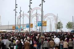 La Feria congregó a cientos de miles de personas.