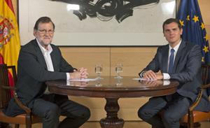 Mariano Rajoy y Albert Rivera se entrevistaron de nuevo el pasado 10 de agosto.