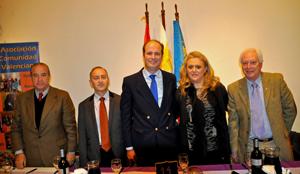 Víctor Moldes, Martín Blanco, Juan Lugo, Mariela Martínez y Manuel Hernández.