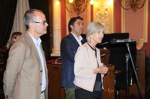 Covadonga Toca, secretaria xeral de Emprego, en la clausura de un curso para parados.