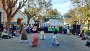 Presentación en la Fiesta de la Ensaimada.