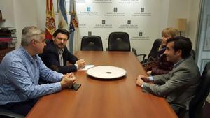 Reunión en Buenos Aires con el delegado de la Xunta en Argentina y Uruguay, Alejandro López Dobarro, para analizar cómo mejorar la atención a la colectividad.