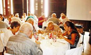 Almuerzo de las sociedades asturianas.