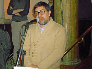El interventor del Centro Gallego de Buenos Aires, Martín Moyano Barro.