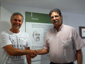 Carlos Santos Valle y Mauro Quiñones Consolani.