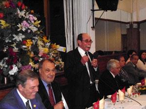 Intervención del presidente del Centro Asturiano Casa de Asturias, José María Pérez.