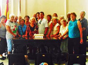 El grupo de 'Esperancitas y Laureles'.