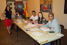Los jóvenes participaron activamente en las elecciones del CRE de Sao Paulo.