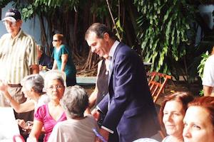 José Manuel Herrero saludó a los participantes en el centenario de la Colonia Zamorana de Cuba.