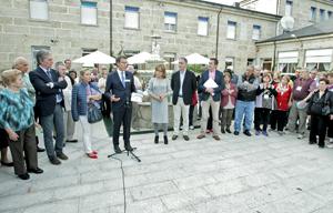 El encuentro tuvo lugar en la Residencia de O Carballiño de la Xunta de Galicia.