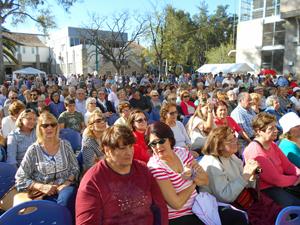 Cientos de personas participaron de la Gran Romería celebrada en el Centro Galicia.