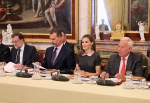 Un momento de la reunión del Patronato del Instituto Cervantes.