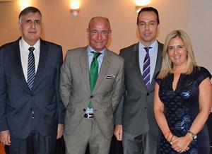 José Luis Seoane, Santiago Camba, David Carriedo y Claudia Trillo.