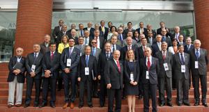 Asistentes al encuentro celebrado en México en junio de 2015.