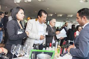 Degustación de los vinos de Castilla y León en México.