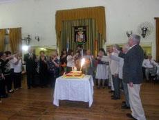 Brindis por el 106 aniversario de la Asociación Española de Punta Alta.
