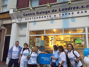 Llegada al Centro Gallego.
