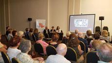 Una gran cantidad de público asistió al acto celebrado en el Centro Burgalés de Buenos Aires.
