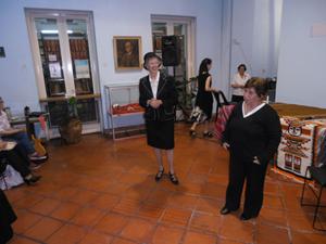 Integrantes del taller Encuentro Córdoba durante los espectáculos.