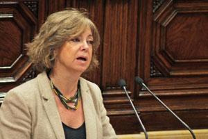 Intervención en el debate de la consellera de Governació, Meritxell Borràs.