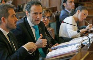 Comparecencia de Guillemo Martínez ante la Junta General del Principado.