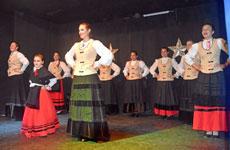 Cuerpo de baile de Hijos de Morgadanes.