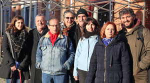 Los miembros del CRE de Bélgica.