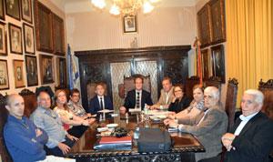 Reunión del CRE de Montevideo.