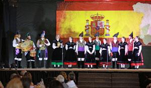 Actuación de 'Aires Gallegos'.