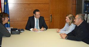 Begoña Serrano, Guillermo Martínez, Pilar Burgo y Gaspar Revuelta.