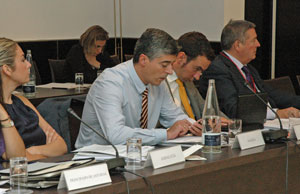 Ildefonso de la Campa acudió al V Pleno del V Mandato del CGCEE en representación de la Comunidad de Galicia.