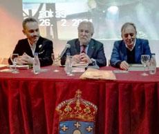 Manoel Carrete, Miguel Ángel Santalices y Xosé Lois Foxo.