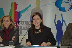 Intervención de Esther Peña ante el Consejo General de la Ciudadanía Española en el Exterior.