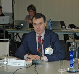 José Manuel Herrero se dirigió a los consejeros del CGCEE.