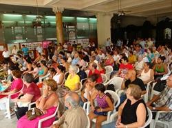 Vista parcial del Salón de Actos de la Oficina Delegada de la Xunta en La Habana.