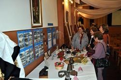 Exposición en la 31ª Semana de las Letras Asturianas en Montevideo.