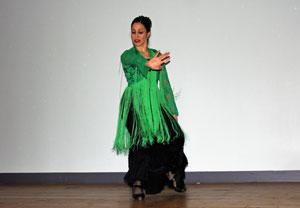 El acto contó con la actuación de Sabrina LLanos.