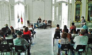 Felipe Cid y Ortelio González presidieron la conmemoración del 105° aniversario de 'Puentedeume y su Partido Judicial'.