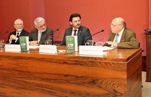 Luis Miguel Aparisi, Darío Villanueva, Antonio Rodríguez Miranda y Enrique Santín.