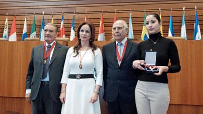 Pedro Bello, Silvia Clemente, Sergio Rabanillo y María del Mar Díez.