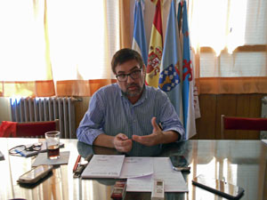 Martín Moyano ofreció una rueda de prensa.